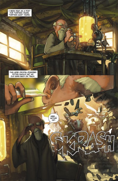 Sky Pirates of Neo Terra #2 Page 1