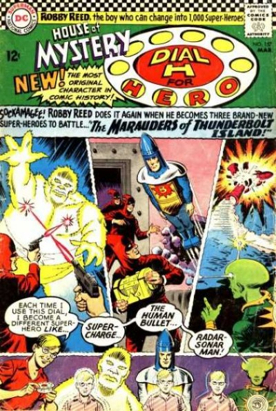 Dial H for hero: issue #157 illustrated by Jim Mooney