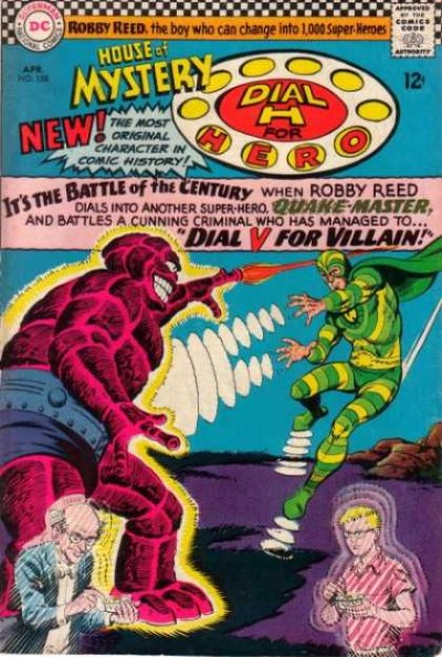 Dial H for hero: issue #158 illustrated by Jim Mooney