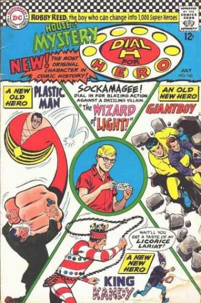 Dial H for hero: issue #160 illustrated by Jim Mooney