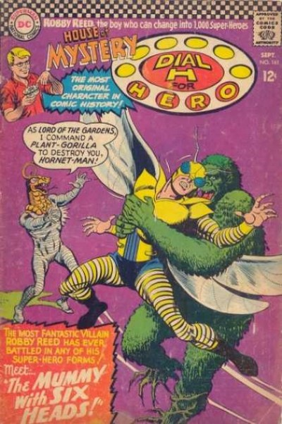 Dial H for hero: issue #161 illustrated by Jim Mooney