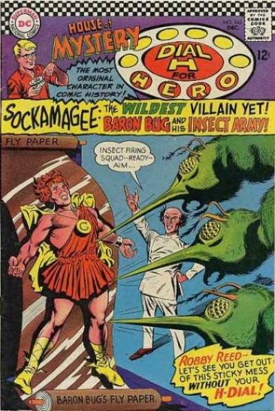 Dial H for hero: issue #163 illustrated by Carmine Infantino