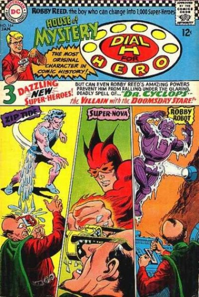 Dial H for hero: issue #164 illustrated by Jim Mooney