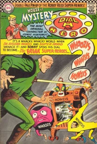 Dial H for hero: issue #165 illustrated by Jim Mooney