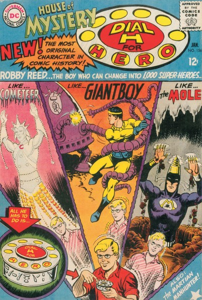 Dial H for Hero: Cover of the Re-issue