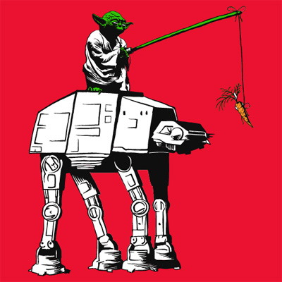 Leading the AT-AT Tee