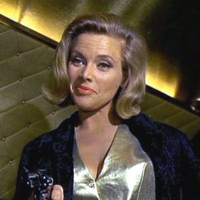 Pussy Galore as played by Honor Blackman
