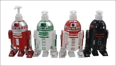 STAR WARS Shampoo Bottle Set