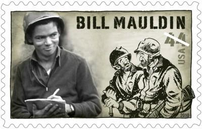 Bill Mauldin Stamp