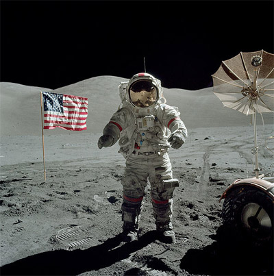 Apollo 17 in 1972: The last moonwalk of the 20th Century