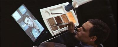 2001: A Space Odyssey - a flat screen TV