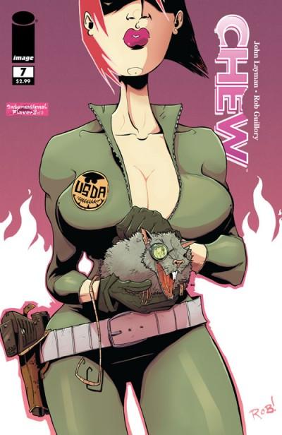 Chew #7 - Cover