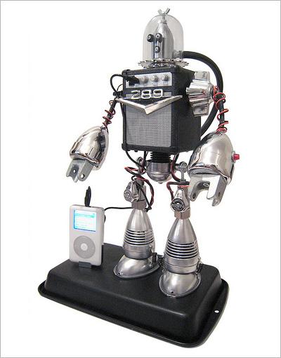 Speaker Bot by Lipson Robotics/David Lipson