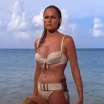 Ursula Andress as Honey Ryder from Dr. No