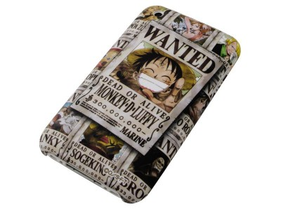 One Piece iPhone 3G / 3GS Shell case Luffy Wanted
