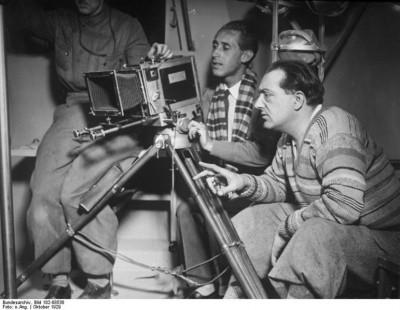 Frau Im Mond: Fritz Lang at work