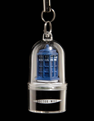 Dr. Who Cell Phone Alert Charm