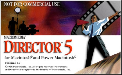 Macromedia Director 5 from 1996