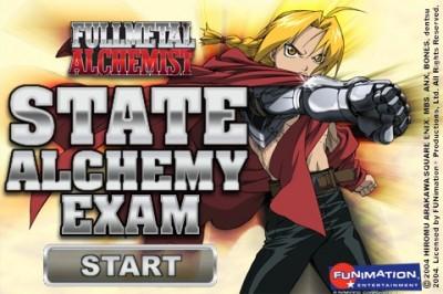 Fullmetal Alchemist iPhone App
