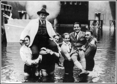 Metropolis: On the set of the scene where the city flooded