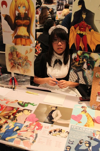Artists Alley at the New York Anime Festival 2009, photo by Christian Liendo.