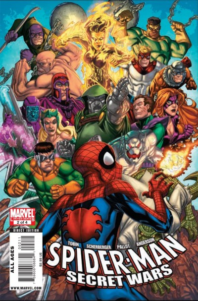 Spider-Man & The Secret Wars #2 cover art