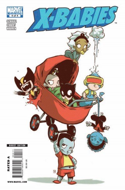 X-Babies #4 - Cover