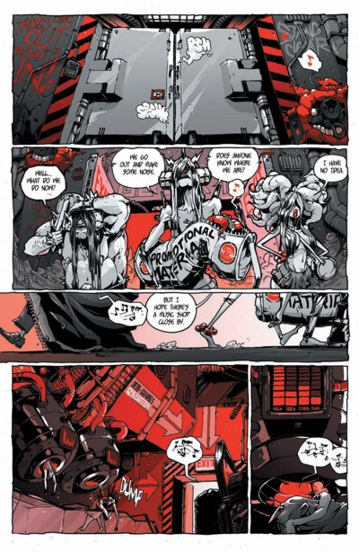 Kill Audio #5 page 3