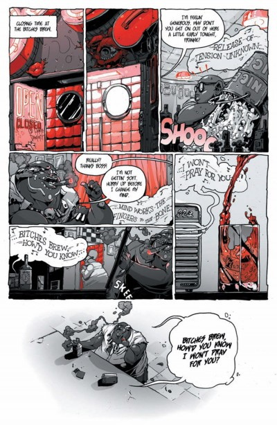 Kill Audio #5 page 6