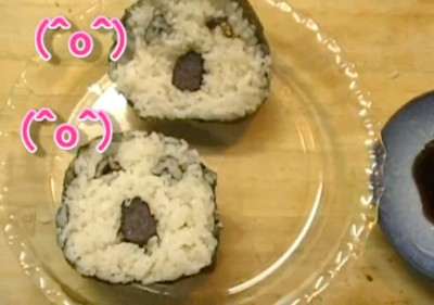 Emoticon Sushi Rolls