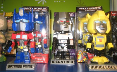 Transformers toy line by Funco