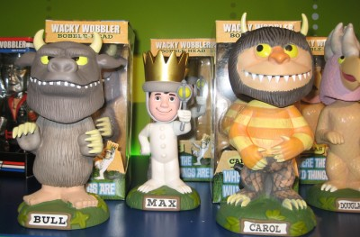 Where the Wild Things Are toy line by Funco