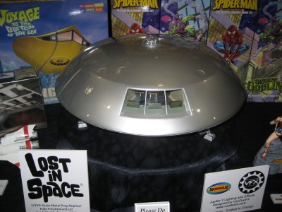 Lost in Space Jupiter II 1/35th Scale Metal Prop Replica - fully finished and lit Moebius Models