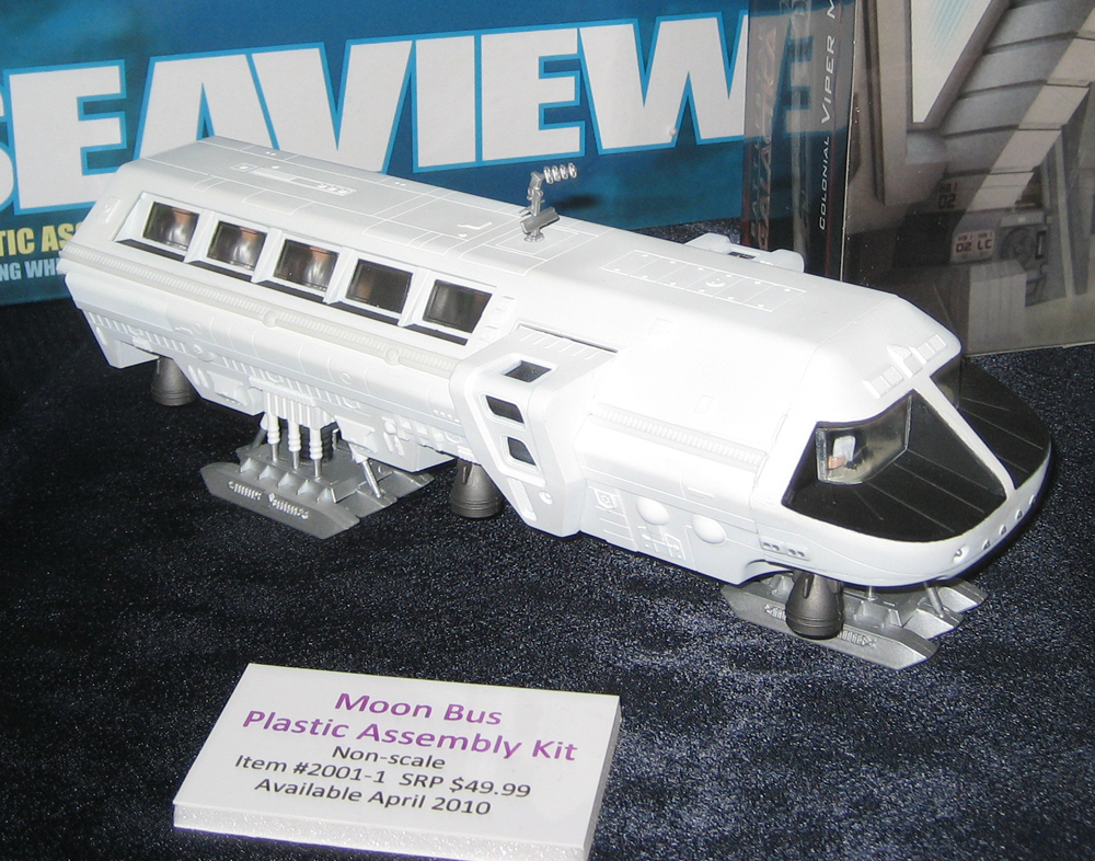 Moon Bus Plastic Assembly Kit from 2001: A Space Odyssey