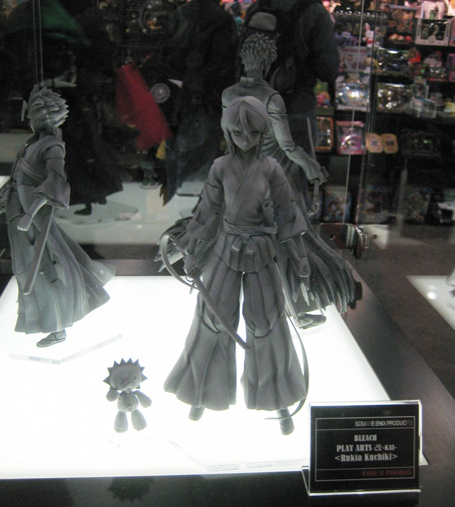 Bleach figure previews from Square Enix Products