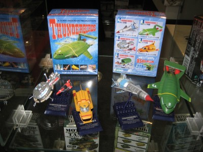 Japanese Thunderbirds Miniature Models