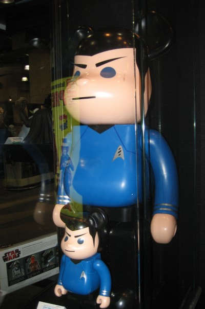 Qee Bear Spock: Diamond at Toy Fair 2010