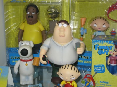 Family Guy toys by Mezco at the Toy Fair 2010