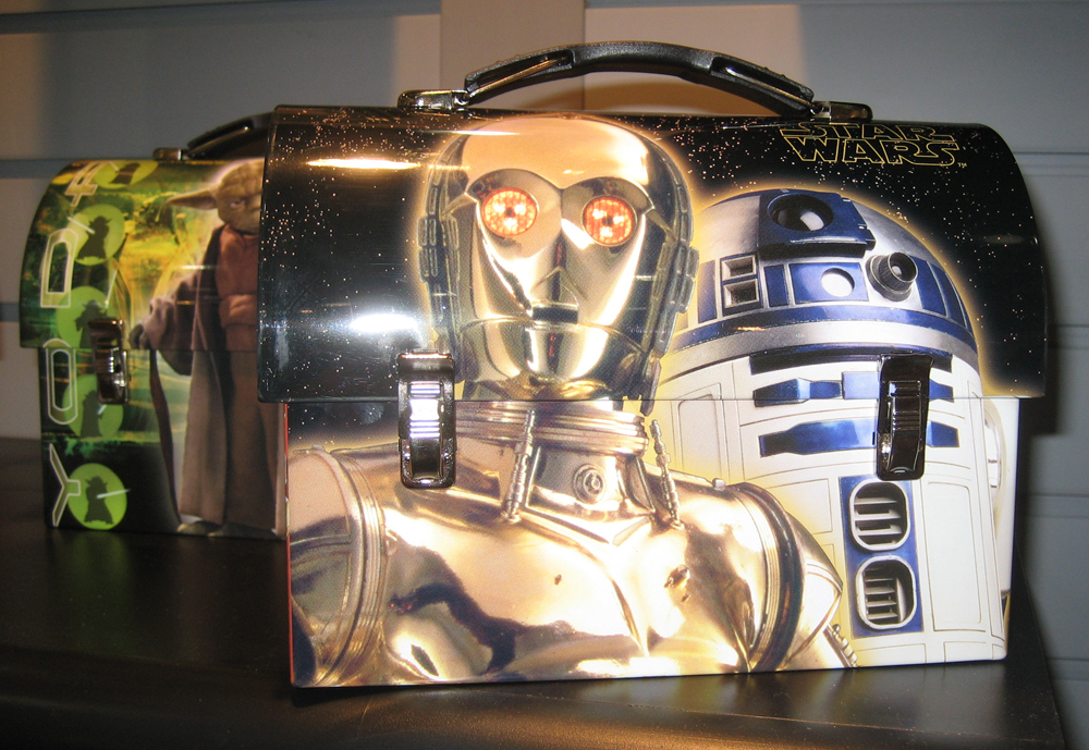Star Wars lunch boxes by Tin Box Company