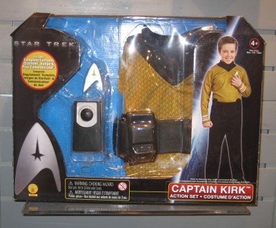 Captain James Kirk costume by Rubles