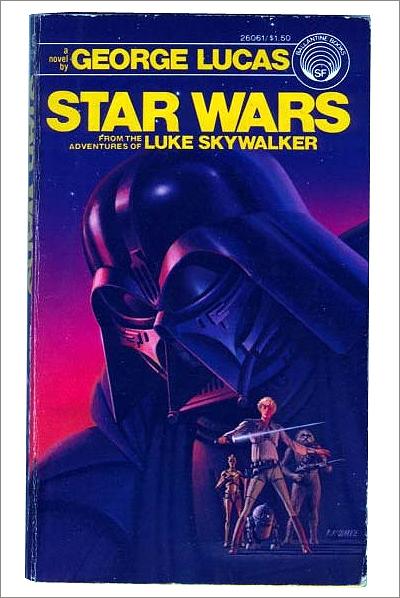 Ralph McQuarrie artwork used for a novel based on Star Wars