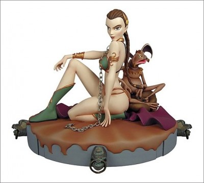 Star Wars Slave Leia Animated Maquette