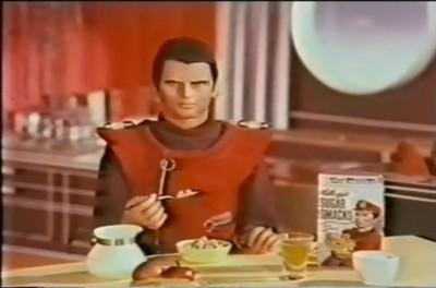 Captain Scarlet and Thunderbirds Sugar Smacks