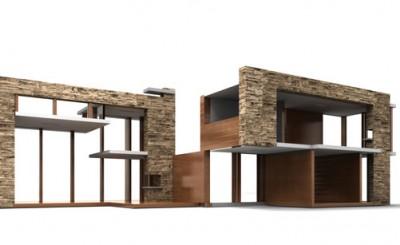 Modernist Dollhouses from Brincadada
