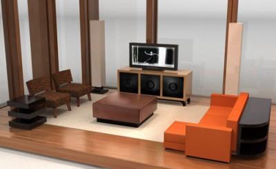 Modernist Furniture for Dollhouses from Brincadada