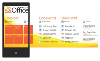 Windows Phone 7 Interface for Office