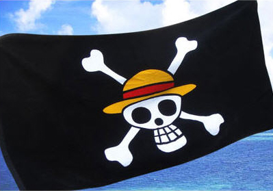 One Piece Jolly Roger Towel