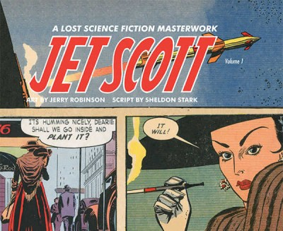 Jet Scott vol. 1 Cover