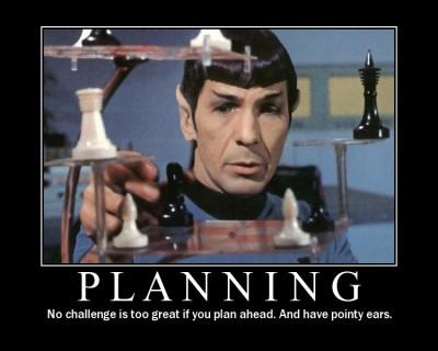 Spock on Planning
