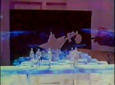 The Making of Star Trek the Motion Picture: pre-production model of a set design